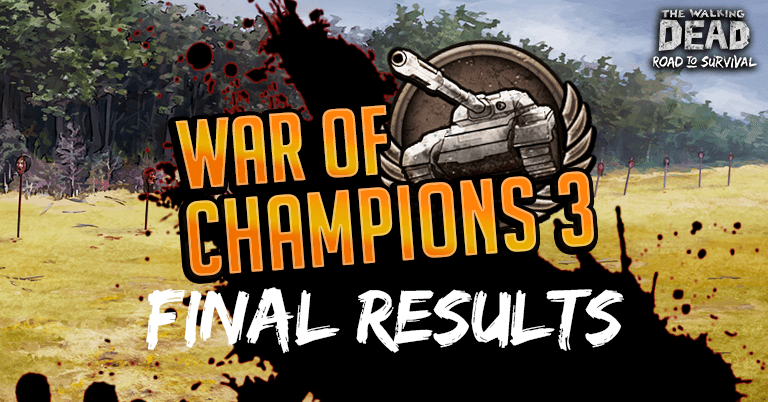 War of Champions 3 – Final Results