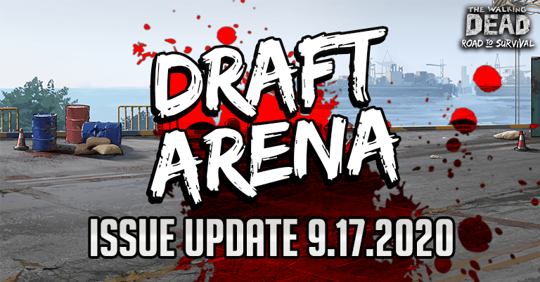 Draft Arena Issue – 9.17.2020