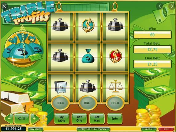 Окунуться в мир роскоши с игровым автоматом Triple Profits